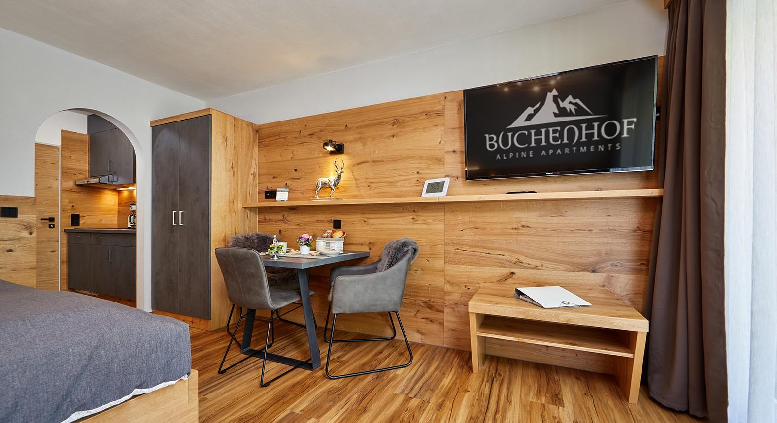 Entspannen im Buchenhof Appartment A